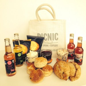 Picnic Cornwall Cornish Hamper Falmouth