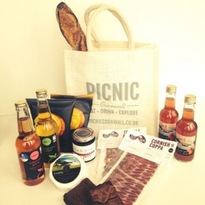 Picnic Cornwall Cornish Hamper Falmouth 7