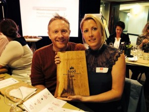 Picnic Cornwall won Best Cafe in the South West in Food Magazine's 2014 Reader Awards!