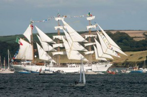 Tall Ships 2014 at Picnic Cornwall Falmouth